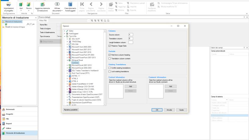 bilingual Excel