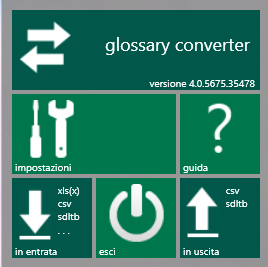 Glossary Converter IT